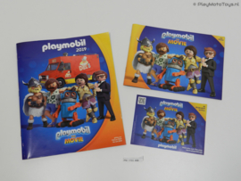 Playmobil: The Movie - Catalogus 2019 + Stickeralbum + Flyer