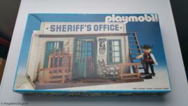 Playmobil 3423 - Sherrif's office (V3, gebruikt)