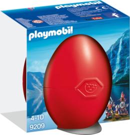 Playmobil 9209 - Vikings met wapenrek in rood Paasei