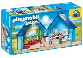 Playmobil 70219 - Funpark meeneem zomerhuis