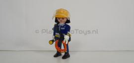 Playmobil 4675 - Brandweerman, Gebruikte- / used set.