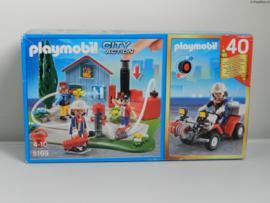 Playmobil 5169 - Brandweer compact set 40-jarig jubileum - MISB