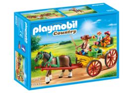 Playmobil 6932 - Paard en wagen