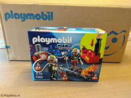 Playmobil 5365 - Brandweerteam met waterpomp