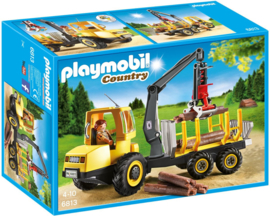 Playmobil 6813 - Timber Truck with Crane