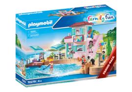 Playmobil 70279 - Promopack IJssalon aan de haven