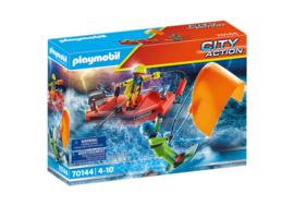 Playmobil 70144 - Kitesurfer redding met speedboot