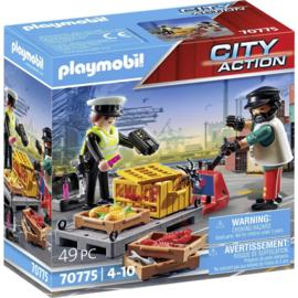Playmobil 70775 - Douanecontrole
