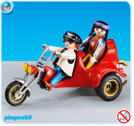 Playmobil 7528 - Red Trike MISB