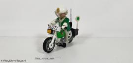 "Playmobil 3564x - Politiemotor ""Polizei"", gebruikt"