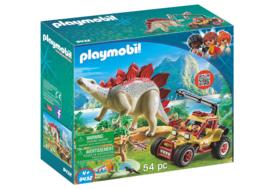 Playmobil 9432 - Explorers buggy met Stegosaurus