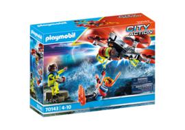 Playmobil 70143 - Duiker redding met drone