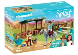 Playmobil 70119 - Arena met Lucky en Javier