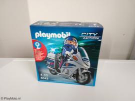 Playmobil 5043 - Carabinieri Politiemotor met zwaailicht  EXCLUSIVE