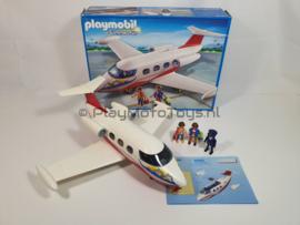 Playmobil 6081 - Passagiers vliegtuig, gebruikt & compleet.