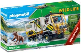 Playmobil 70278 - Safaritruck met lier