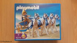 Playmobil 4274- Romeinse Quadriga strijdwagen