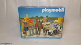 Playmobil 3489 - Verkeerspolitie set, V1, MISB