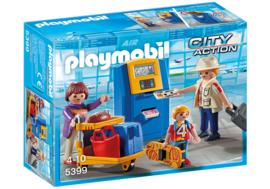 Playmobil 5339 - Vakantiegangers aan incheckbalie