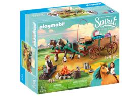 Playmobil 9477 - Lucky's vader en wagen