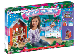 Playmobil 70383 - Adventskalender XL Kerst in huis