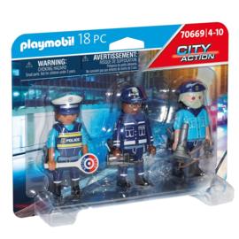 Playmobil 70669 - Politie team