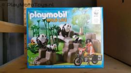 Playmobil 5272 - WWF Pandaonderzoeker in het bamboebos