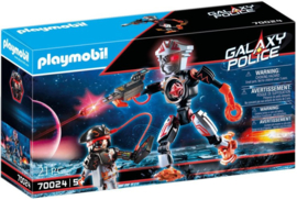 Playmobil 70024 - Galaxy piratenrobot