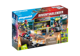 Playmobil 70544 - XXL Adventskalender Stuntshow