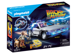 Playmobil 70317 - Back to the Future: Delorean