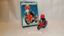 Playmobil 3565 - Racemotor, gebruikt in doos