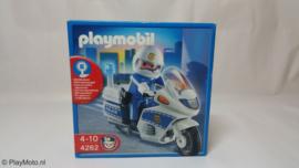 Playmobil 4262 - Politiemotor met zwaailicht (v2)