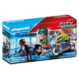Playmobil 70572 - Achtervolging van de geldrover