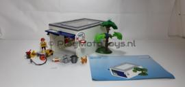 Playmobil 4318 - Garage, gebruikt.