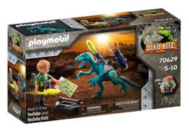 Playmobil 70629 - Uncle Rob: bewapenen voor de strijd