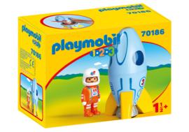 1.2.3. Playmobil 70186 - Astronaut met raket Playmobil