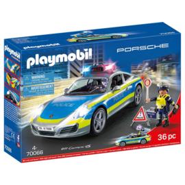 Playmobil 70066 - Porsche 911 Carrera 4S Politie
