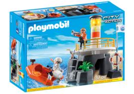 Playmobil 5626 - Vuurtoren met reddingsboot