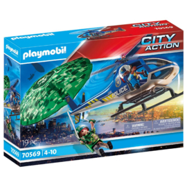 Playmobil 70569 - Parachute achtervolging
