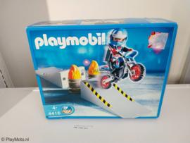 Playmobil 4416 - Crossmotor met springschans