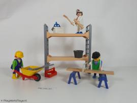 Playmobil 3833 - Bouwvakkers, 2ehands