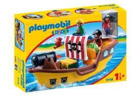 1.2.3. Playmobil 9118 - Piratenschip