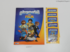 Playmobil: The Movie - Grote Stickeralbum + 5 stickerpacks