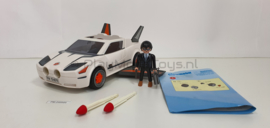 Playmobil 4876 Secret Agent Super Racer, Gebruikt / Used
