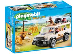 Playmobil 6798 - Safari terreinwagen met lier