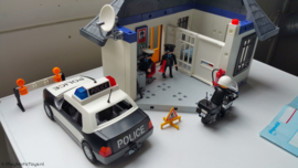 Playmobil 5013 - Politiebureau, gebruikt