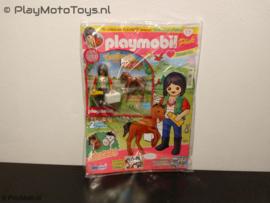 Playmobil Pink Tijdschrift nr.3/16, Dierenarts met veulen
