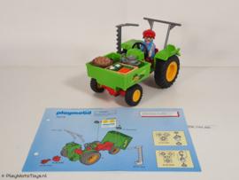 Playmobil 3074 - Oogst Tractor, gebruikt