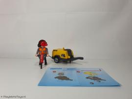 Playmobil 5472 - Bouwvakker met persluchthamer, 2ehands