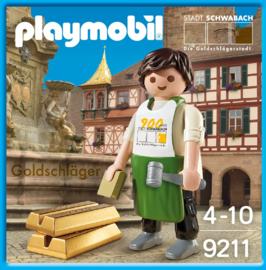 Playmobil 9211 - Schwabacher Goldschläger Promo MISB